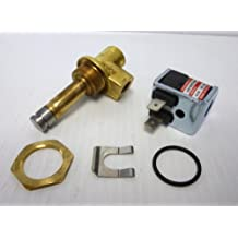 13 Cv Flow 1 Orifice Brass Nitrile Butylene Sealing 1 Pipe Size 2-Way Normally Closed 24//DC ASCO 8210G054-24//DC Brass Body Pilot Operated General Service Solenoid Valve NPT Female Connector