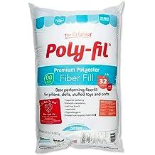 10-Pound 10-Pound Fairfield 10-Pound Poly-Fil Premium Polyester Fiber Fіvе Расk Smooth Consistency White