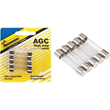 8-Pack Bussmann BP//AGA-AH8-RP 8 Piece Aga-Xxx High Amp Fuse Assortment ,