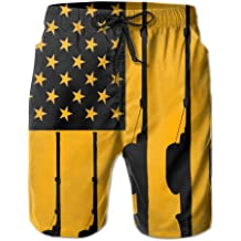YOIGNG Boardshorts Space and Planet Mens Quick Dry Swim Trunks Beach Shorts