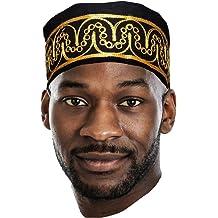 Peacock African Print Ankara Modu Hat Pre-tied Head wrap DP3816PT