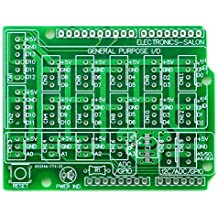 Electronics-Salon 10x Prototype PCB for Arduino UNO R3 Shield Board DIY by CZH-LABS