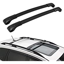 ALAVENTE 54 Curved Upper Windshield Mount Brackets for 2007-2013 Chevrolet Suburban Avalanche Tahoe Silverado GMC Sierra Yukon XL 2007-2014 Chevrolet Silverado GMC Sierra 2500 3500HD