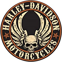 Kate Harley Davidson Motorcycle Man Cave DECOR Pinup Girl 4x6 Fridge Magnet Sign
