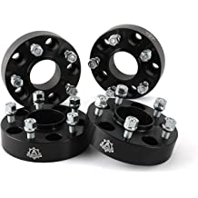 1.5 Thickness Forged 5x127 Wheel Spacers 71.5mm hub core with 14x1.5 Thread Studs for JL WK2 JT Durango EOTH 5x5 Wheel Spacers
