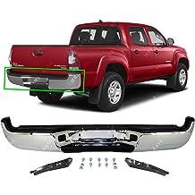 Chrome Steel Rear Step Bumper Assembly for 2015-2019 Chevy Silverado /& GMC Sierra 2500 3500 w//Park Assist 15-19 GM1103183 MBI AUTO