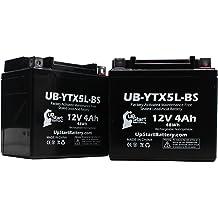 CA C2 2004-2008 Replacement Battery YTZ12S Sealed Maintenace Free Battery High Performance 12V SMF Replacement Powersport Battery KMG 12V Battery for Honda VT750C
