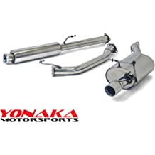Yonaka 94-97 Honda Accord Stainless Steel Performance Cat-Back 2DR//4DR CD5 CD7