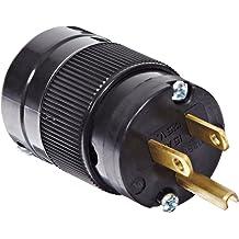 3W 20 Amp 125V Marinco Power Products 5366.OEM Straight Blade Plug Master//50 2P