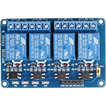 Lystin 8 Channel DC 5V DC 230V Relay Module Control Board with Optocoupler for Arduino UNO R3 MEGA 2560 1280 DSP ARM PIC AVR TTL Logic STM32 Raspberry Pi