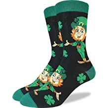 Adult Shoe Size 5-9 Good Luck Sock Womens The Kiss Socks Green