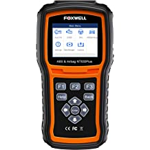 Check Engine ABS Airbag Oil EPB EPS BCM HVAC Suspension Headlamp Codes and Service Light for 58 Car Makes FOXWELL OBD2 Scanner NT624E All Systems Diagnostic Scan Tool TPMS Tool EL-50448