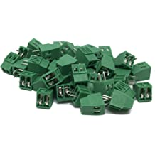 """10PCS 7 BROCHES//7 broches 2.54 mm 0.1/"""" PCB Universal Screw Terminal Block Connector"""