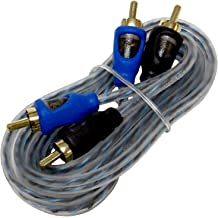 Bass Rockers Stereo 3.5mm to 2 RCA Adapter Cable 6ft ST2RCA