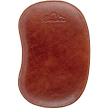 By Alpenleder Made Of Buffalo Leather Conference Folder PAPERS Executive Portfolio A4 Men Women Brown