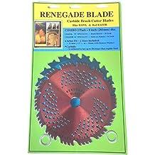 "HYBRID COMBO 20t-68t RENEGADE BLADE® Carbide Brush Cutter trimmer 230mm 2pk-9/"""