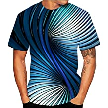 Big Sale Patricks Day Printed Long-Sleeved Round Collar Blouse Wintialy Mens 3D Print Casual St