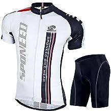Baleaf pour Homme Gel 3D rembourr/é de Cyclisme Collants de Cyclisme pour Homme S/échage Rapide UPF 50/+