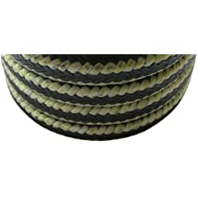 Dull Black 5 Length Palmetto 1382 Series Expanded PTFE with Graphite Compression Packing Seal 1//4 Square