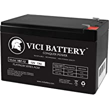VICI Battery 12V 5AH SLA Battery Replacement for Ademco Vista 15P Brand Product