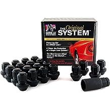 Pack of 4 1//2 Thread Size Gorilla Automotive 63681 Standard Mag Gorilla Guard Locks
