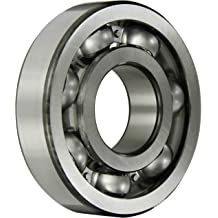 ABEC 1 Precision Single Row Standard Cage Deep Groove Design Contact 62mm OD 16mm Width C3 Clearance SKF 6206-2RS1//C3 Radial Bearing 30mm Bore Double Sealed