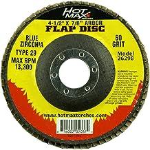 7//8-Inch Arbor Hot Max 26096 4 1//2-Inch 60 Grit Flap Disc Aluminum Oxide Type 29