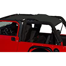 """Cherry Red ALIEN SUNSHADE Jeep Wrangler Mesh RubiSack Exterior Storage Bag for Trash or Trail Gear with 10 Year Warranty Includes 48/"""" Carabiner Bungee"""