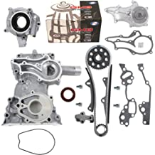 New TC027 Engine Front Timing Chain Cover for 85-95 Toyota 2.4L Pickup 4Runner 22RE 22REC