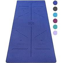 """Gxmmat Grand Tapis de yoga 72/""""x 48/""""6/'x4/' x 7 mm pour Pilates Stretching Home Gym Extra"""