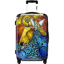Ikase Hardside Spinner Luggage London sunset by Piddix