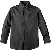 Spring Notion Baby Boys Long Sleeve Dress Shirt