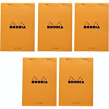 Graph 8.25 x 8.25 Rhodia Wirebound NEW R193609 Reverse Notebook Black