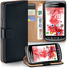 MoEx phone pouch with belt loops to fit Samsung Galaxy A20e Velcro carabiner Black