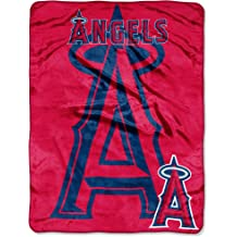 46 x 60 Throws /& Bedding Washable Officially Licensed MLB /& Mickey Cobranded Fly Ball Micro Raschel Throw Blanket Soft /& Cozy