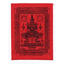 Takrut Lord Brahma Dragon Phra Pidta Thai Buddha Amulet Luck Power Wealth